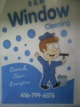 B & M WINDOW CLEANING SERVICE