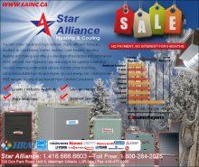 |Barrie New Furnaces, Hot Water Boilers, Fireplace *** PROMOTION **