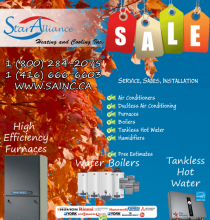 |Cornwall New Furnaces, Hot Water Boilers, Fireplace *** PROMOTION **