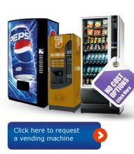 Efficient, happy workplace starts with a drink vending machine
