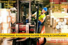 Forklift Training + Certification (Licence) + Jobs