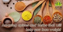 Buy spices and herbs sourced from India only at Ayur Organic