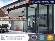 High Performance Aluminium Bi-Fold Doors by Imperial
