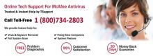 1-800-734-2803 McAfee Antivirus Technical Support available with us