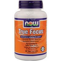 Now Foods True Focus 90 Vcaps