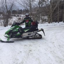 2015 Arctic Cat ZR 6000 snowmobile
