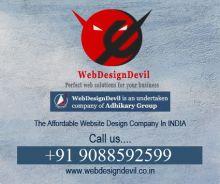 50% Offer on Web Design - Complete Website @ USD 235