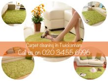 Carpet cleaning services in Twickenham