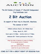 Two Bit Auction Fundraiser
