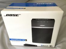 BOSE SoundTouch 10 wireless speakers with Bluetooth