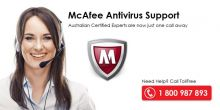 McAfee Antivirus Support Number Australia 1 800 987 893