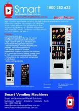 High Standard Frozen Food Vending Machine For Sale
