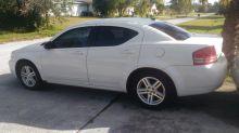 2008 Dodge Avenger SKT, White in Port St. Lucie, Florida