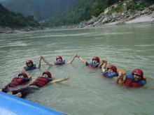 Rafting , Camping and Adventures Trip in Rishikesh