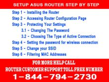 Asus Customer Service Number