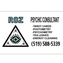 Roz Psychic Consultant Semi-retired part time Psychic
