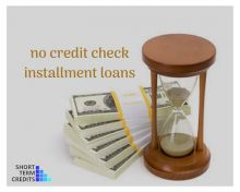 No credit check installment loans | Short term credits Image eClassifieds4U