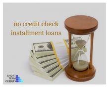 No credit check installment loans | Short term credits Image eClassifieds4U