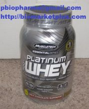 Muscletech Platinum Whey, Milk Chocolate, 2lbs