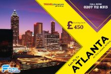 cheap flights to atlanta from london heathrow |Call now: 0207 112 8313
