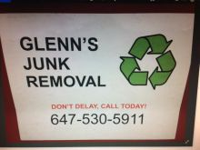 Glenn's Junk Removal 647-530-5911