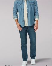 MEN'S EXTREME MOTION REGULAR FIT STRAIGHT LEG JEAN IN CROMWELL